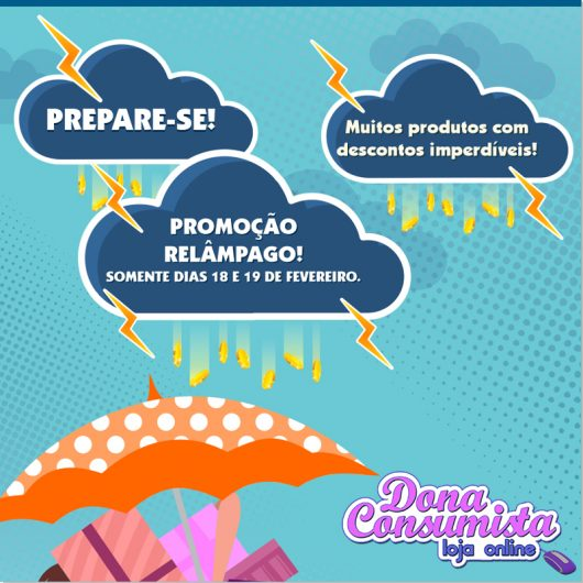 000 Dona_Consumista-promocaorelampago-teaser