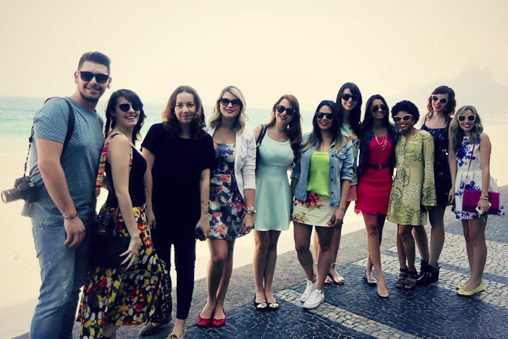 blogueiros trip loreal