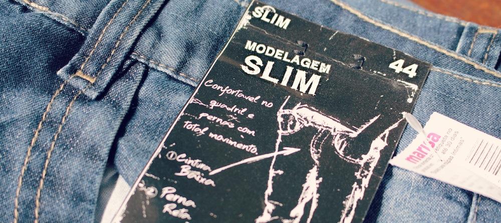 jeans slim marisa 15 anos