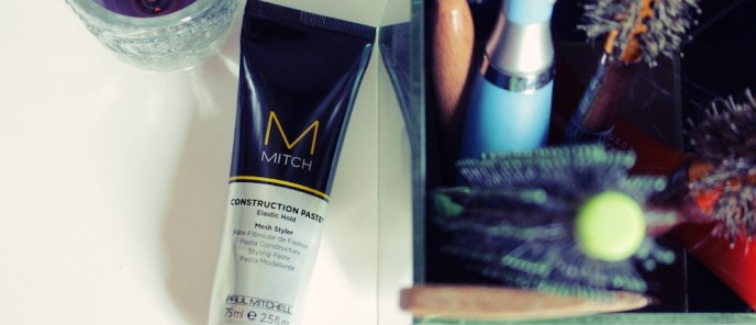 Testei - Construction Paste do Paul Mitchell