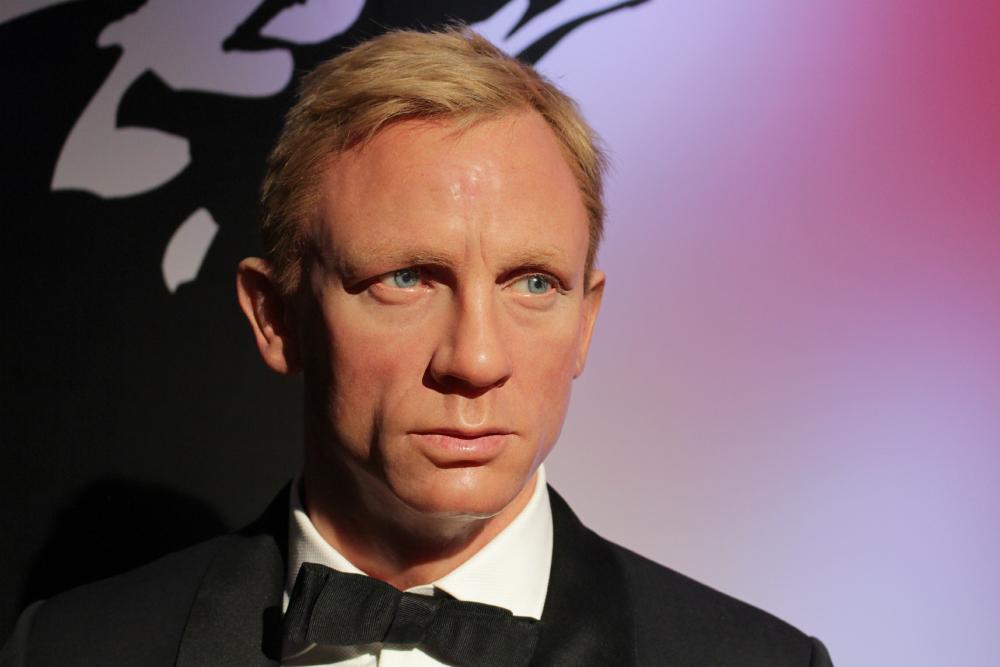 Daniel Craig Madame Tussauds NY