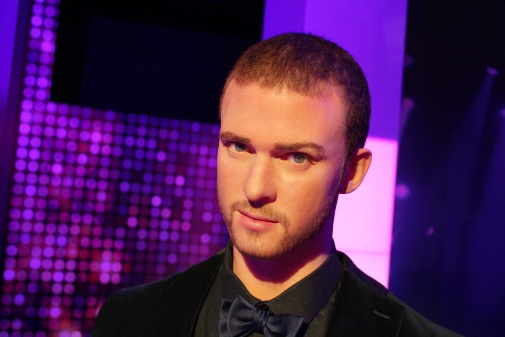 Justin Timberlake Madame Tussauds NY