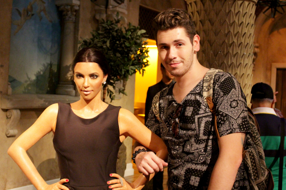 Kim Kardashian Madame Tussauds