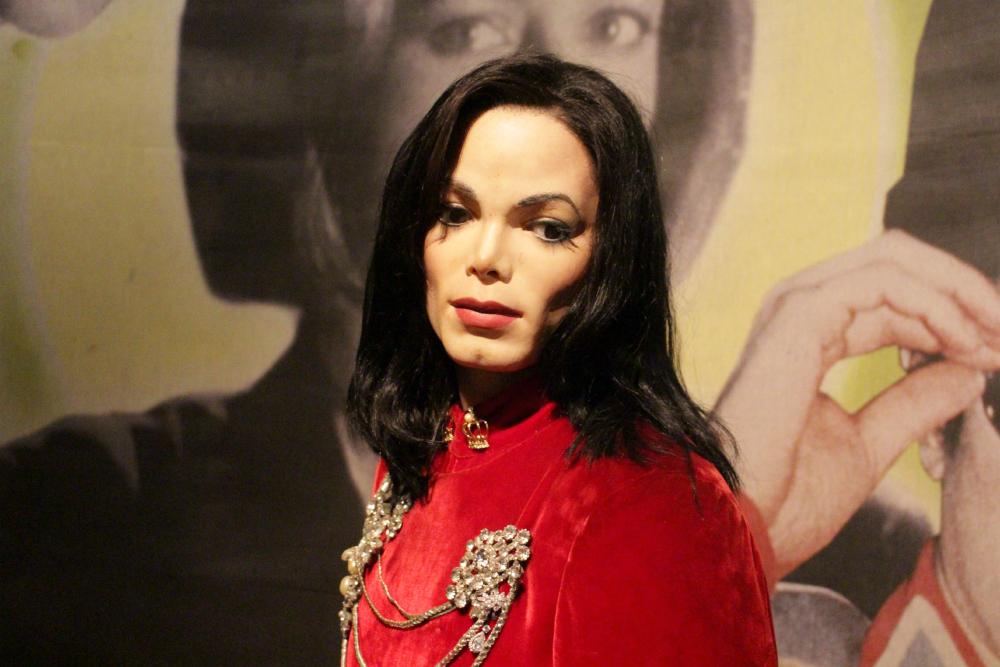 Michael Jackson Madame Tussauds NY