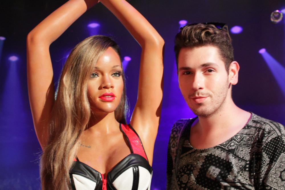 Rihanna Madame Tussauds NY