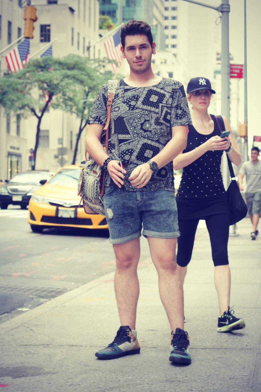 Short HM camiseta Forever NYFW Style Street