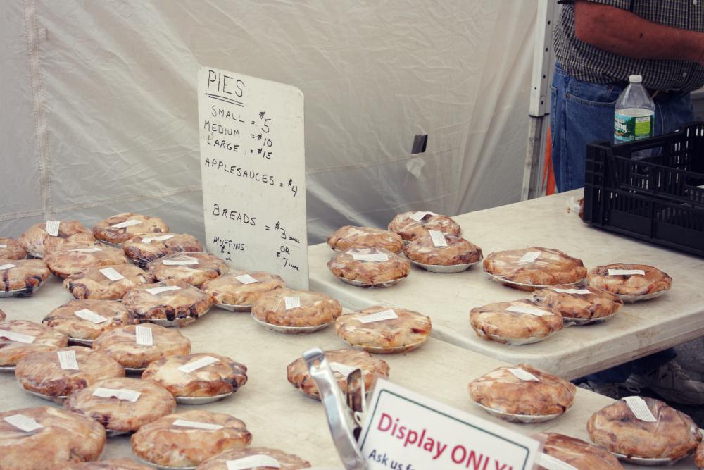 apple pie em NY organica