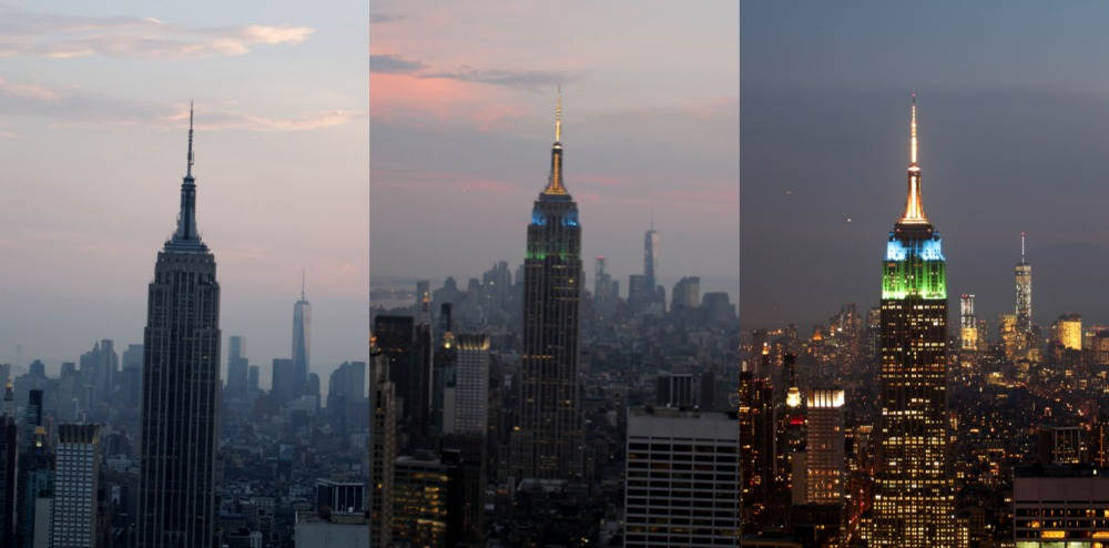 entardecer no empire state top of the rock NY Guia valores onde fica