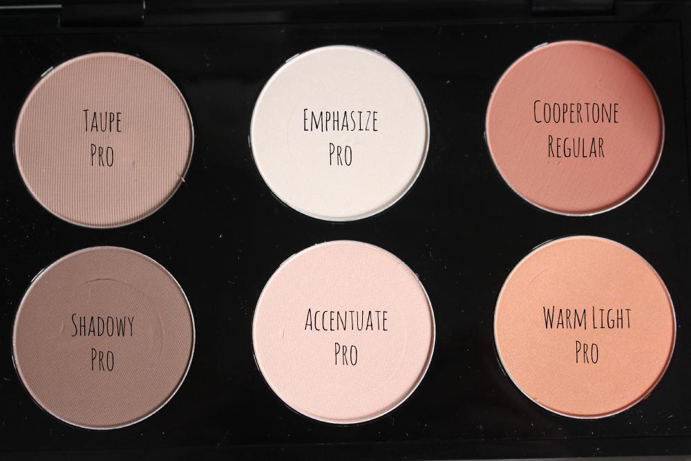 minhas escolhas paleta blush mac pro