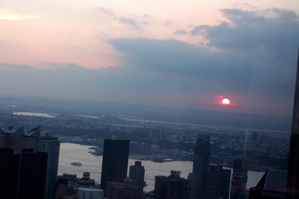 por do sol NY