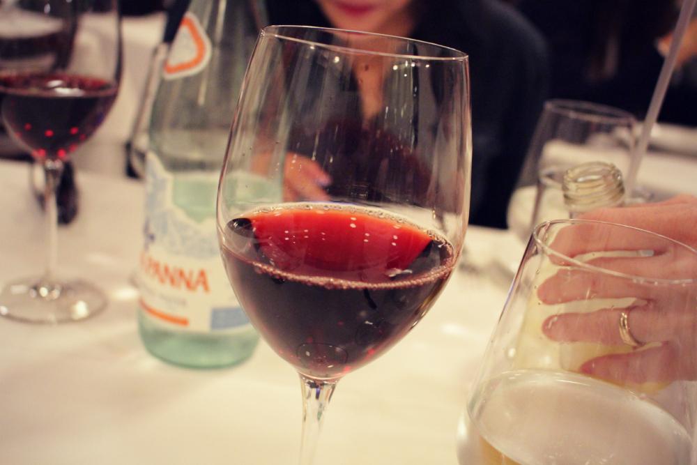 vinho no eataly NY