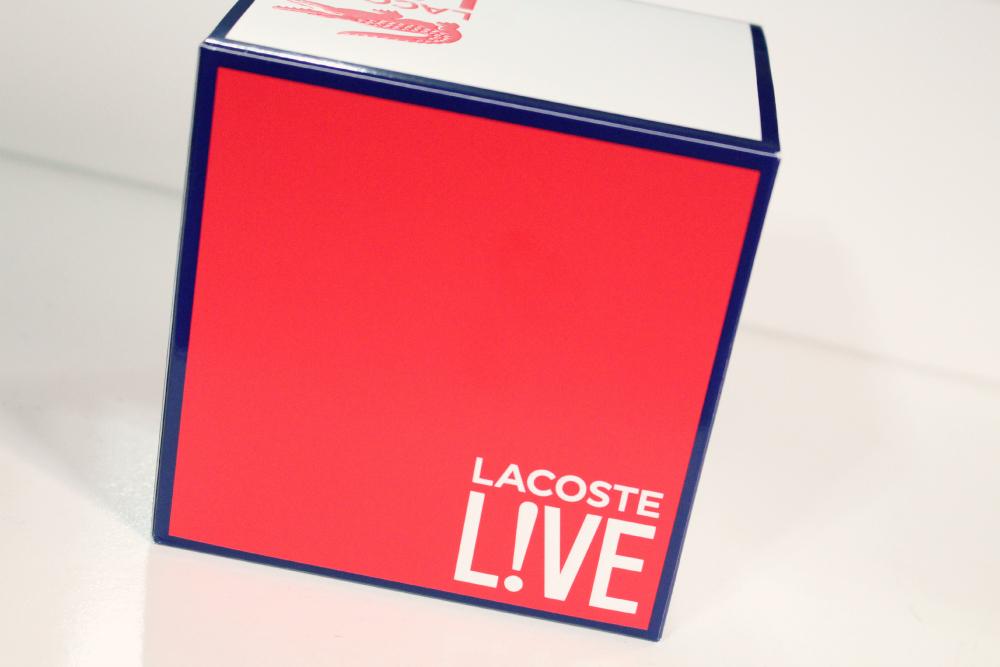 Perfume Lacoste Live