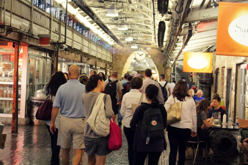 chelsea market por dentro ny