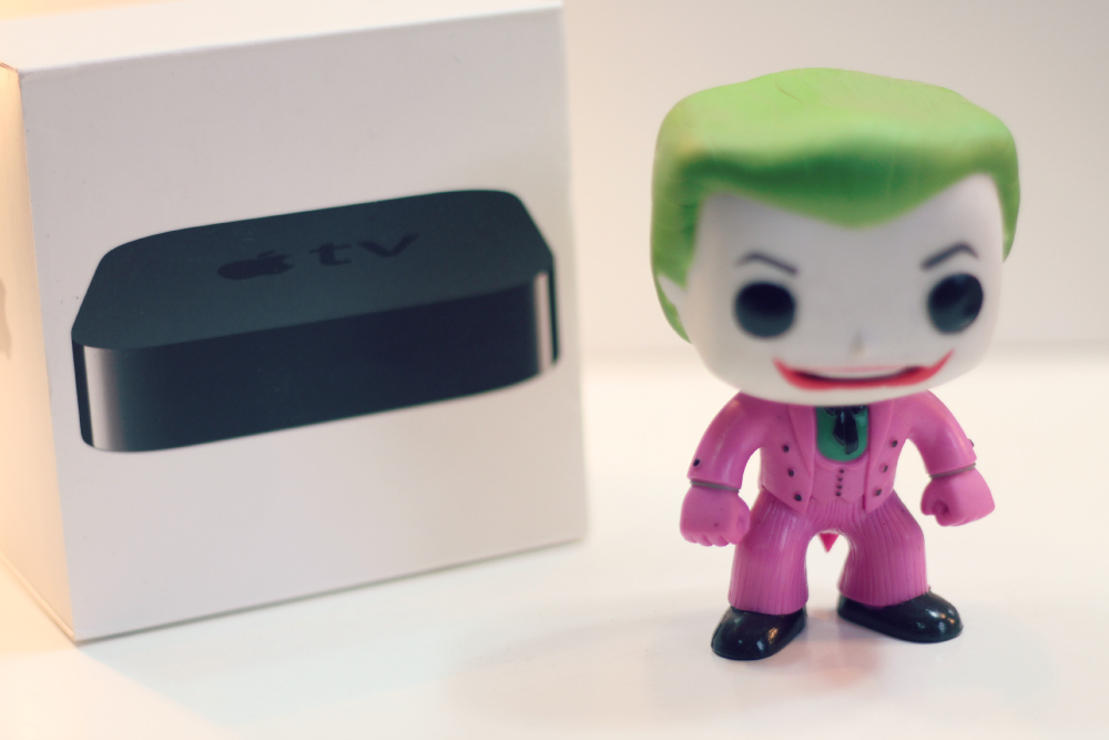como funciona apple tv
