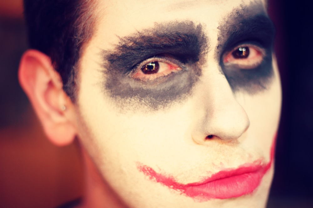 make coringa para halloween the joker tutorial