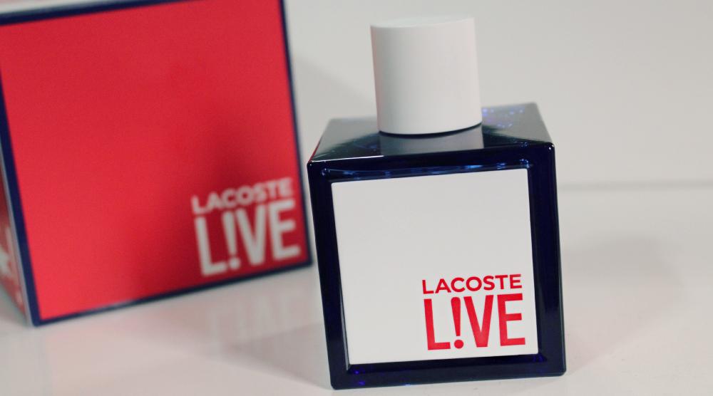 perfume lacoste live resenha