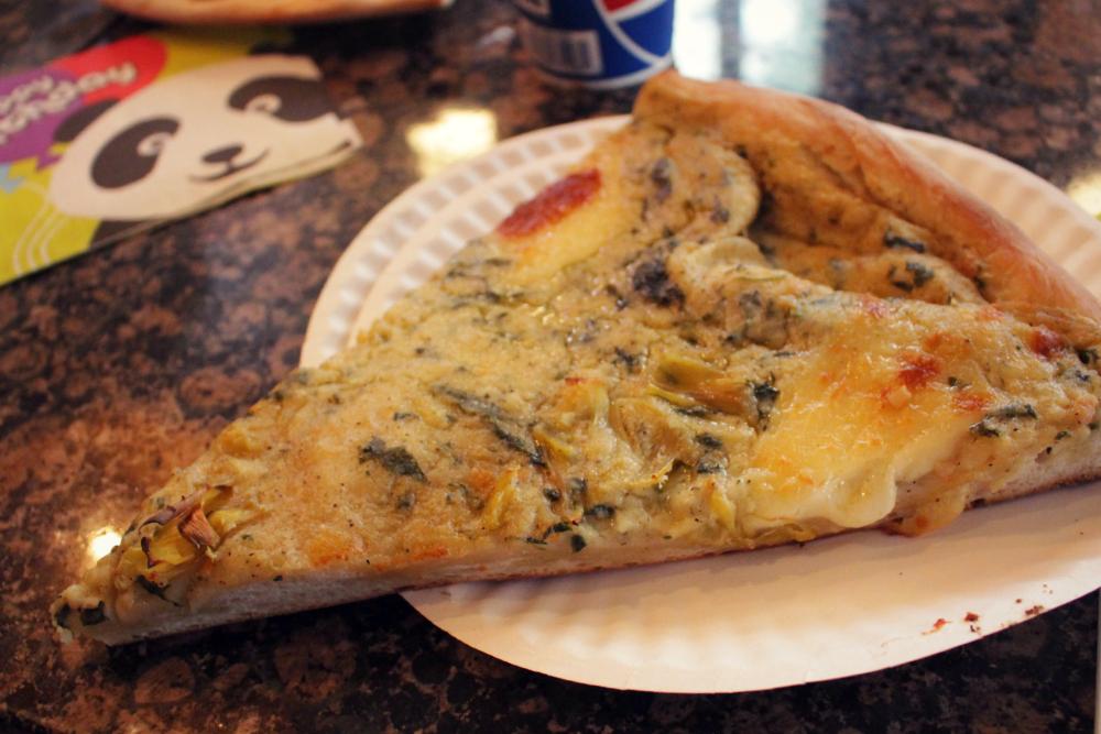 pizza de alcachofra ny
