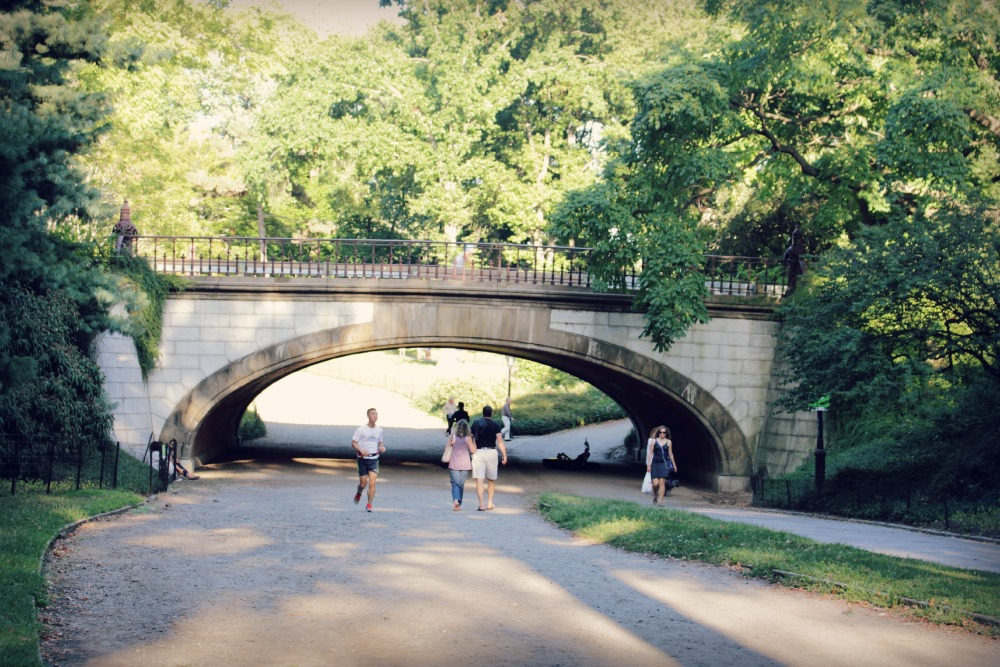 ponte gossip girl no central park