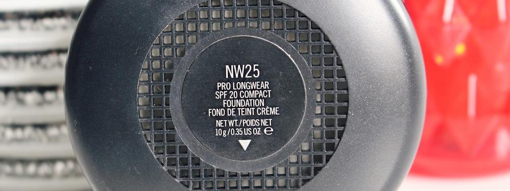 pro longwear nw25 mac