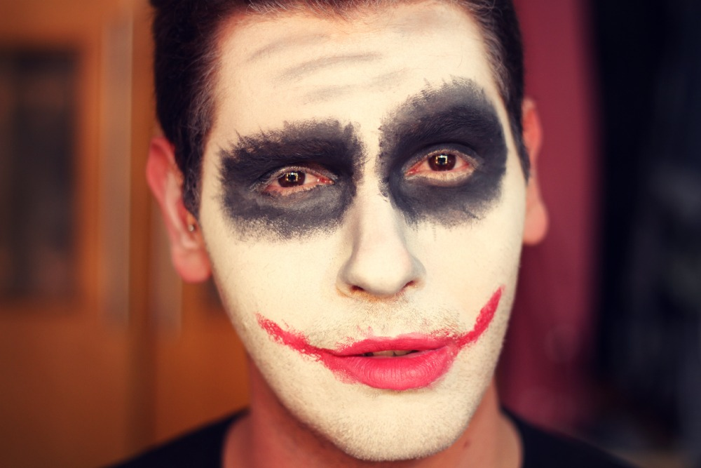 tutorial make coringa halloween
