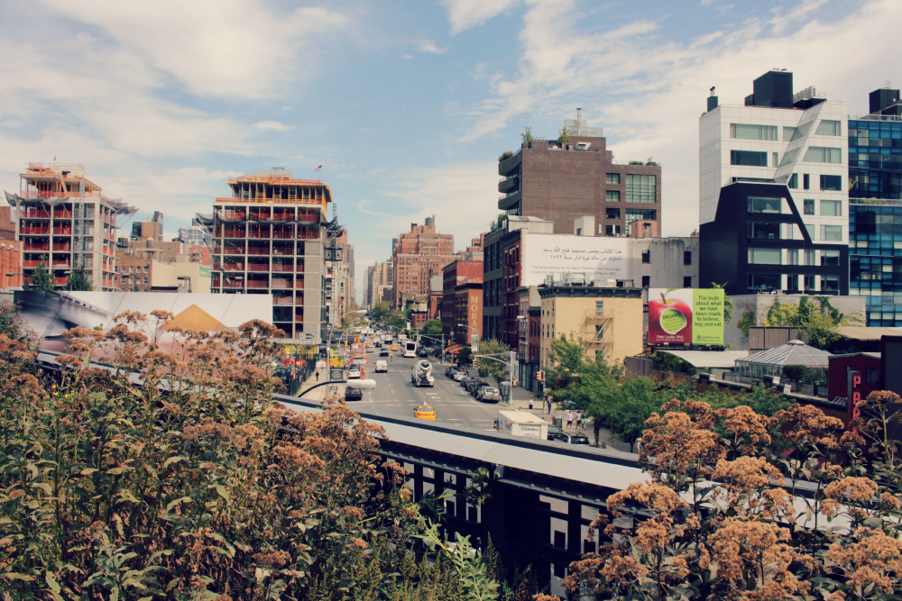 vista highline nyc lindo