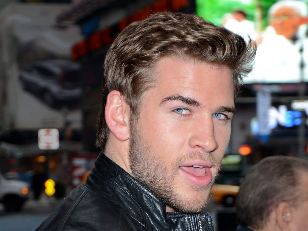 Liam Hemsworth appears on Good Morning America, NYC