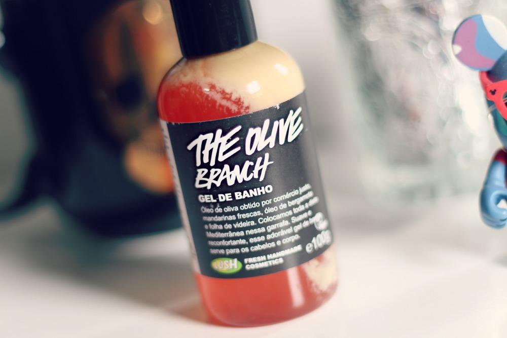 gel de banho the olive