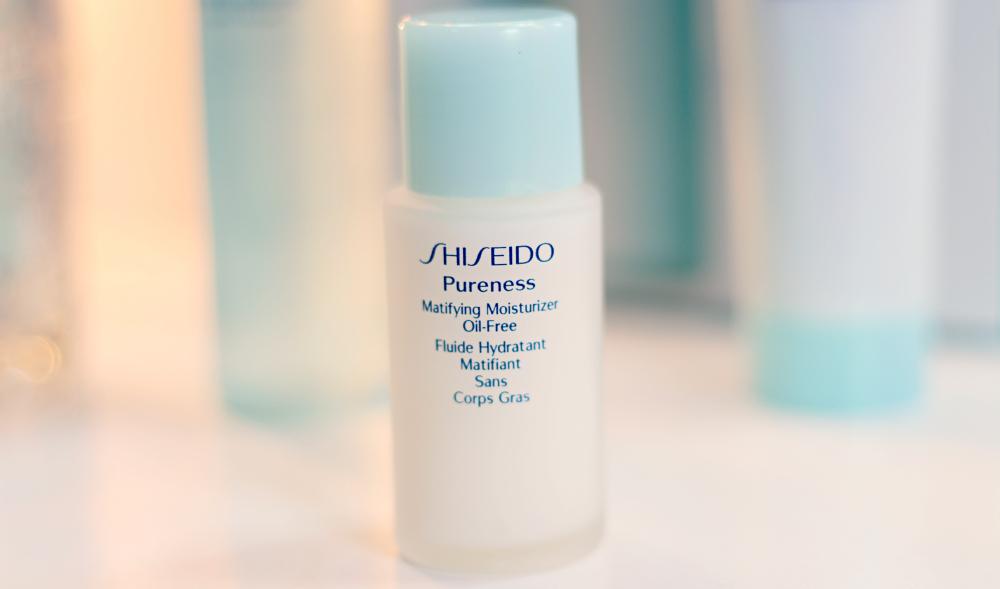 hidratante matificante shiseido pureness