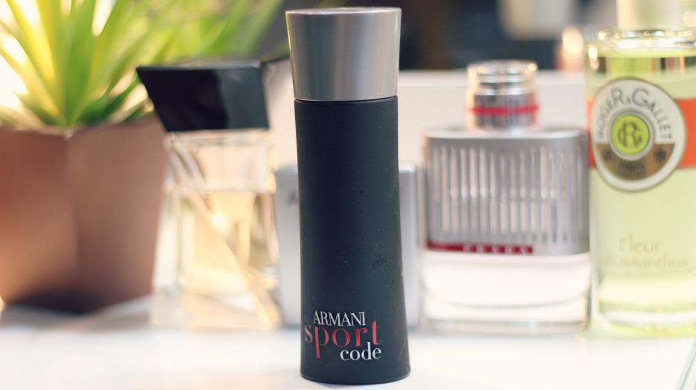 perfume armani sport code