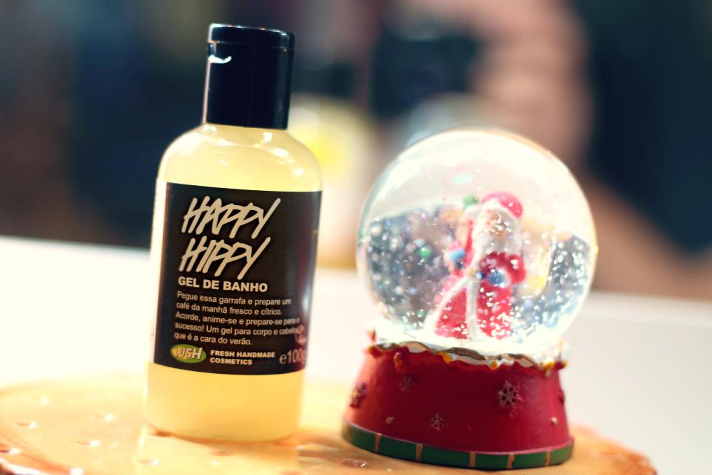 gel de banho happy hippy lush