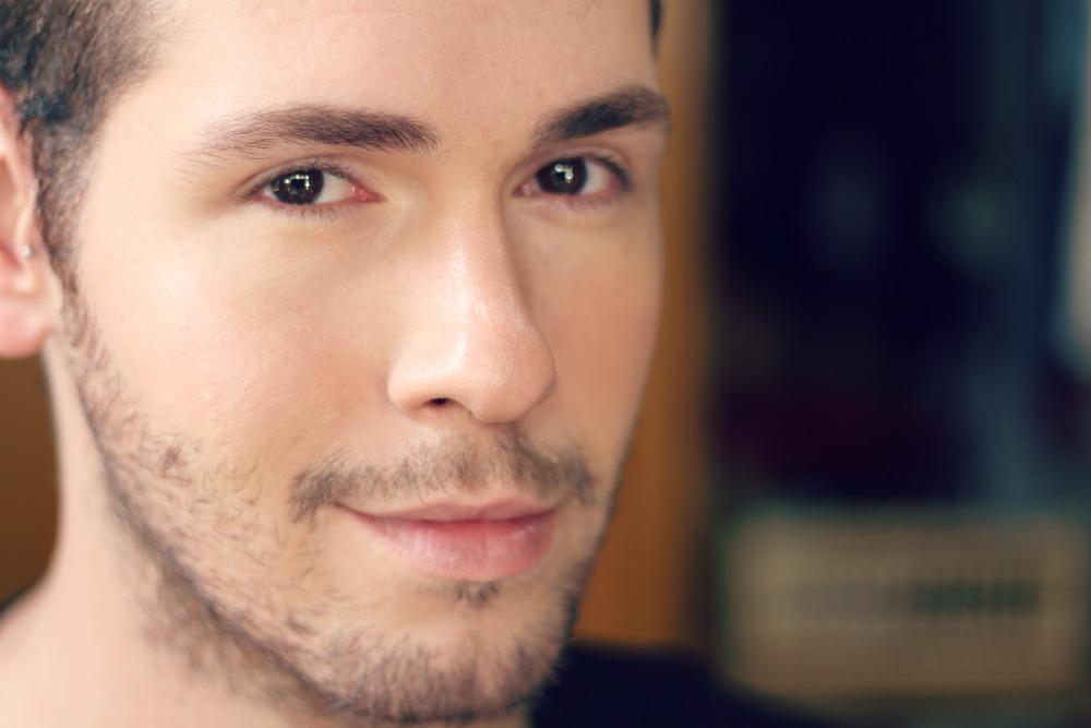 tutorial maquiagem masculina base