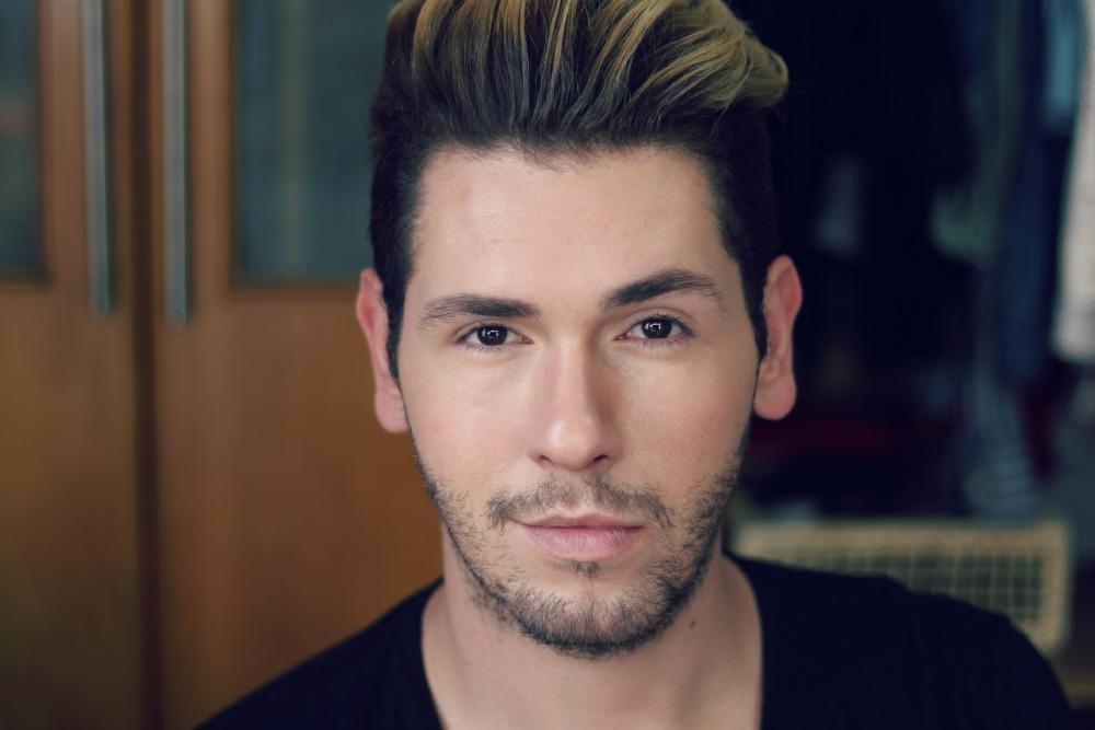 tutorial maquiagem masculina festas de final de ano luh sicchierolli