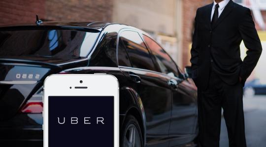 uber carro executivo e app