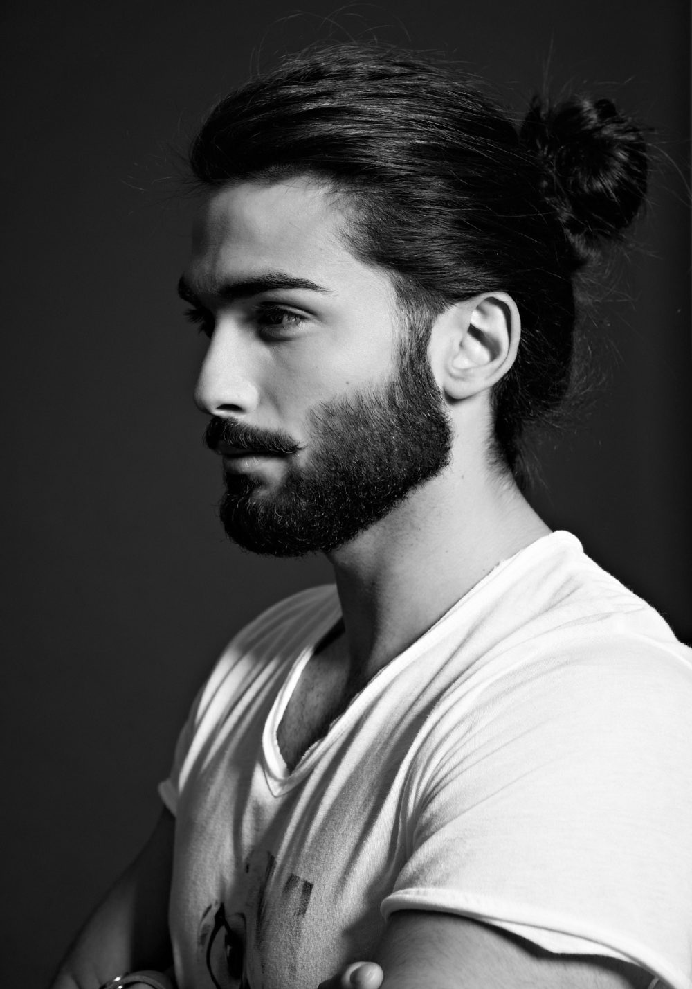 Top-Knot-Men-Hairstyle