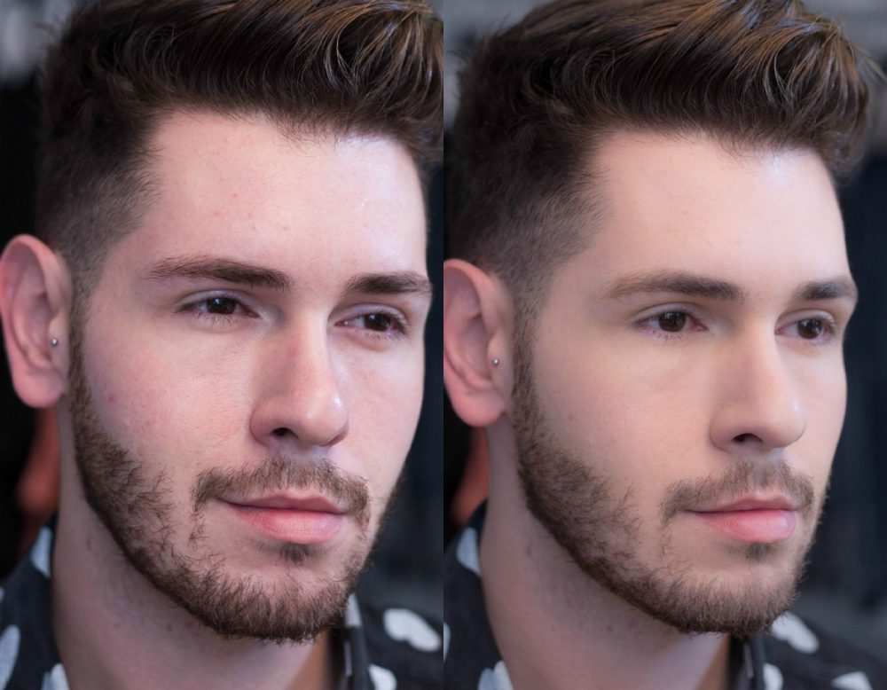antes e depois bb blur la roche