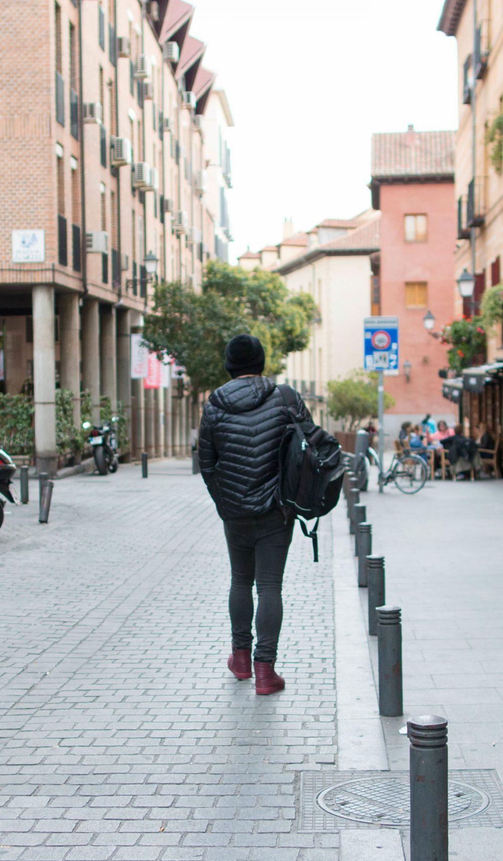 Look Do Dia Masculino Frio Europa O que usar Casaco Termico Uniqlo
