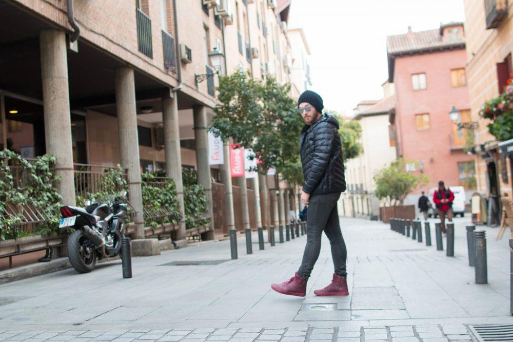 Look Do Dia Masculino Frio Europa O que usar Casaco Termico Uniqlo-4