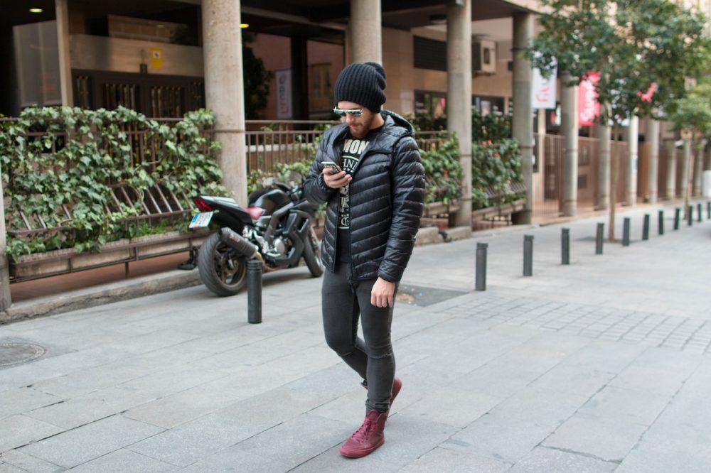 Look Do Dia Masculino Frio Europa O que usar Casaco Termico Uniqlo-8