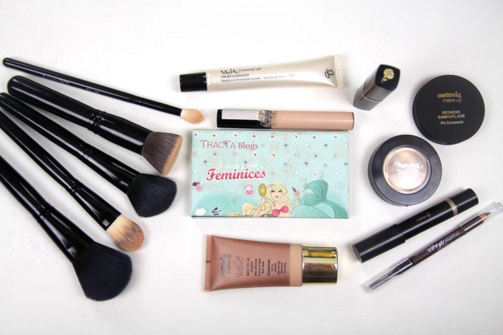 Produtos Nacionais Pele Natal Maquiagem