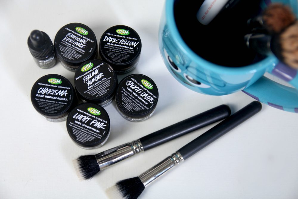 maquiagem cruelty free lush