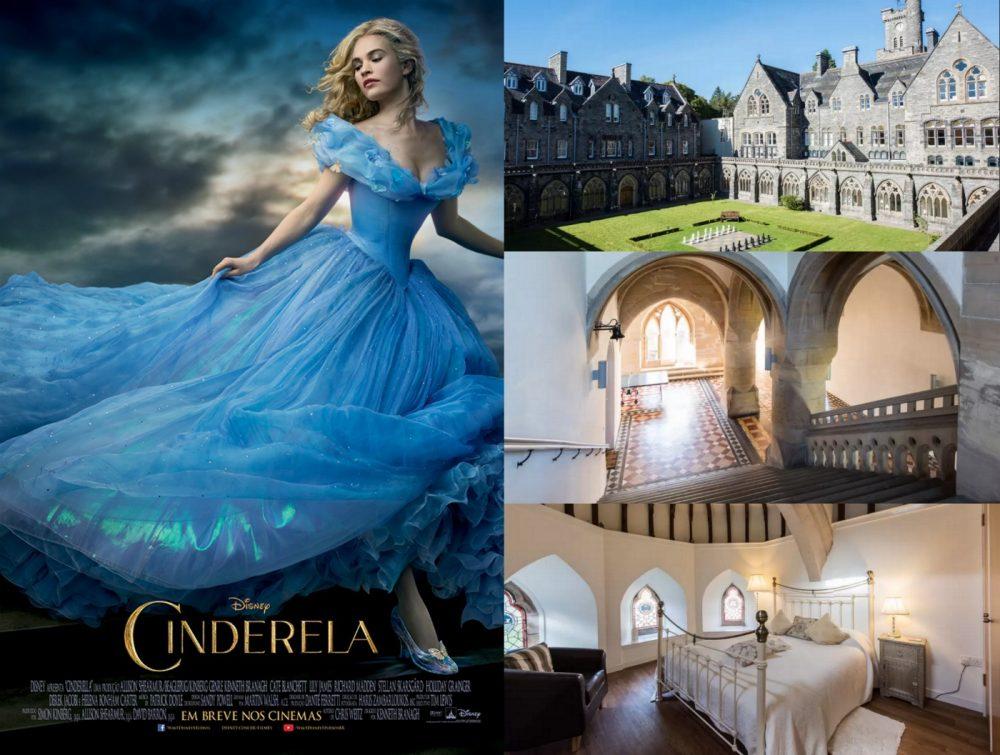 alugar quarto cinderela castelo