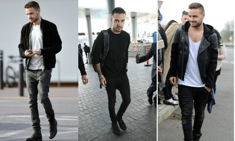 Estilo Liam Payne One Direction Preto