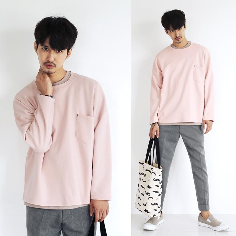 hip-hop-sweatshirt-men-crewneck-solid-pink-long-sleeve-shirt-men-loose-style-m-l-xl