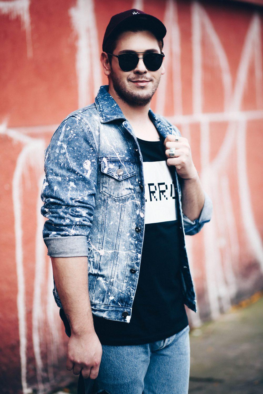jaqueta-jeans-masculina-customizada-tinta-respingada-spfw-look-masculino-levis-davi-morilla-luh-sicchierolli-rodolfo-corradin-look-do-dia-jeans-9